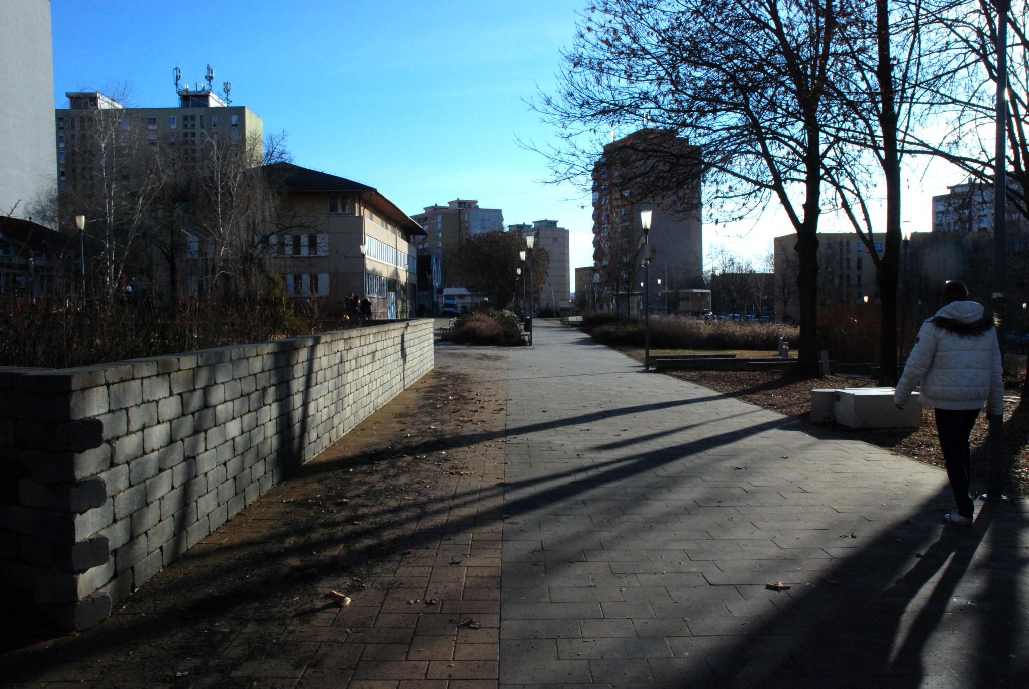 Csontváry sétány, Kertváros